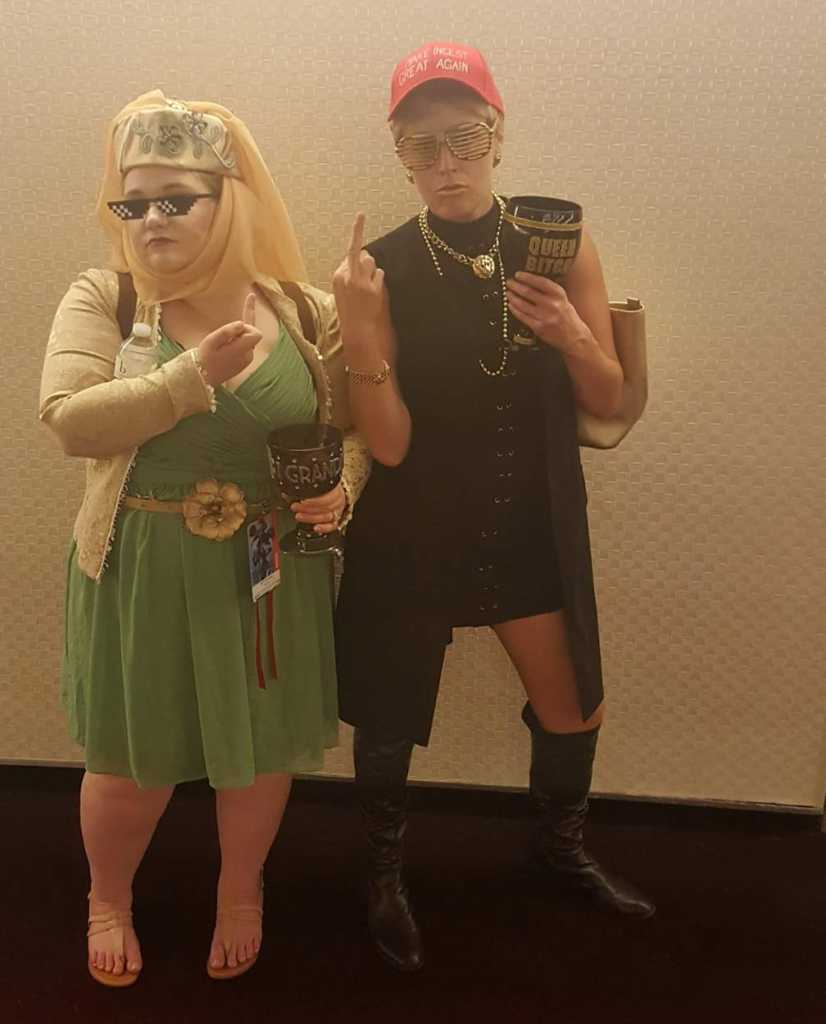 dragon con cosplay 2017 cerse lannister olenna tyrell