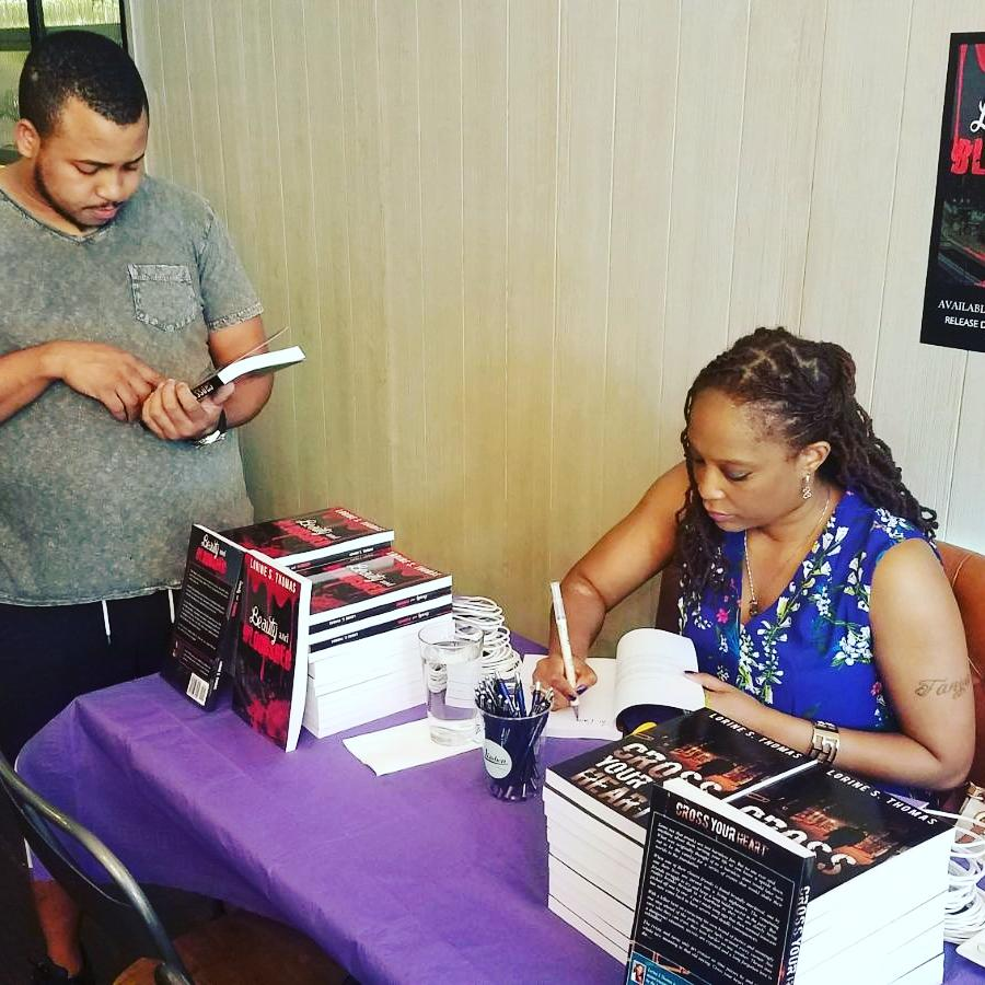 Lorine S Thomas interview Beauty and Bloodshed