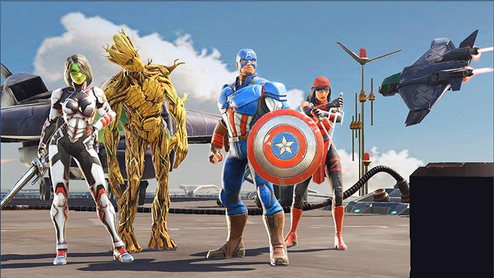 Marvel Strike Force mobile game 2018 release
