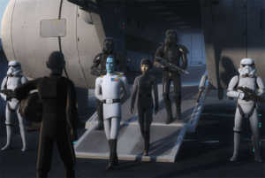 flight of the defender star wars rebels thrawn