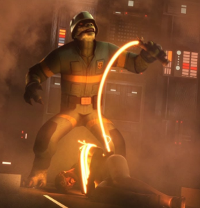crawler commanders trandoshan star wars rebels kindred