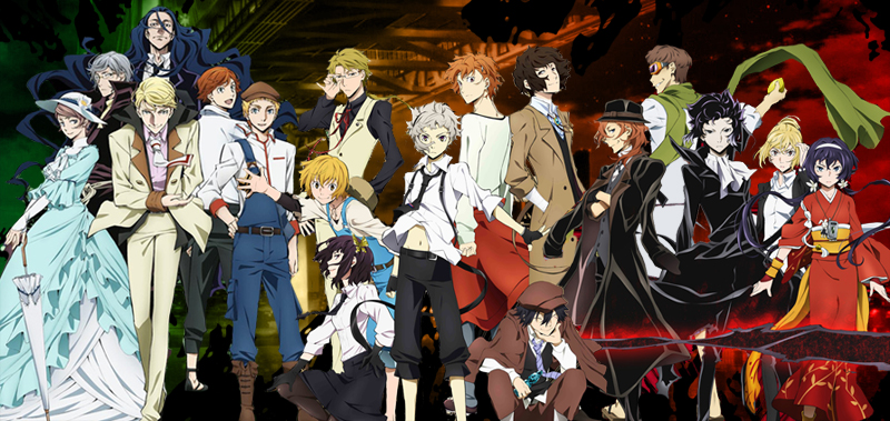 Image result for bungou stray dogs