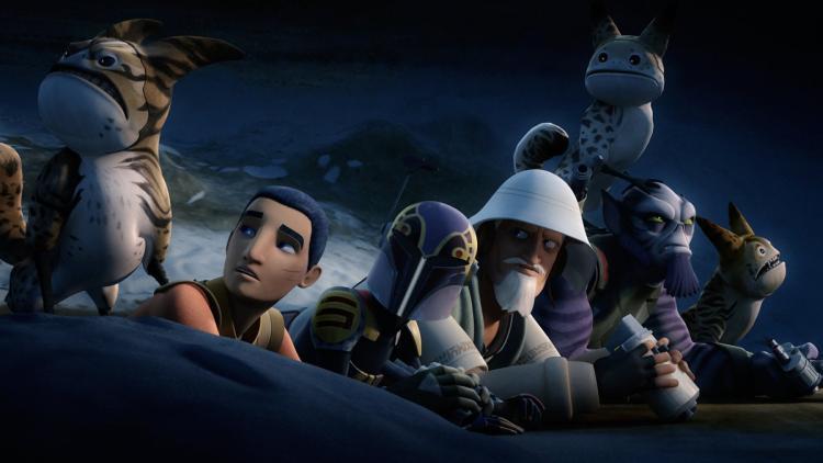 flight of the defender star wars rebels