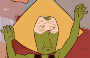 back to the kindergarten sad peridot