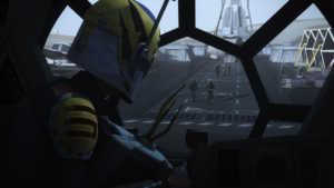 flight of the defender star wars rebels sabine