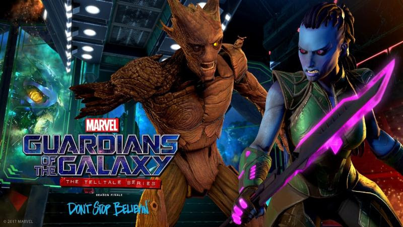 stop believin Marvel's Guardians of the Galaxy The Telltale Series episode release date trailer