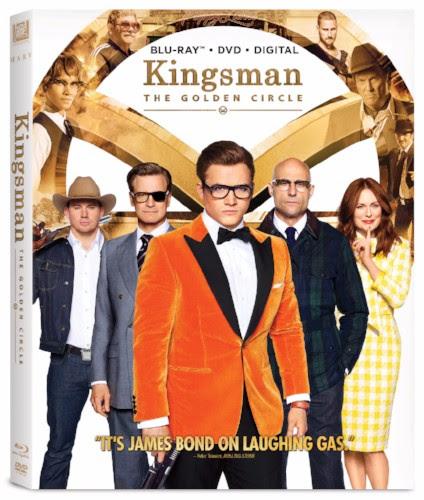 Kingsman The Golden Circle 4K Blu-ray DVD Release Fox