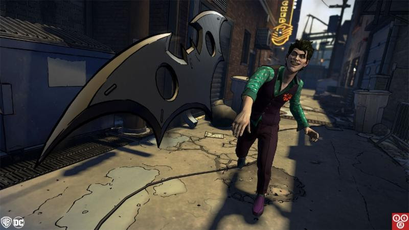 Batman The Telltale Series The Enemy Within Fractured Mask