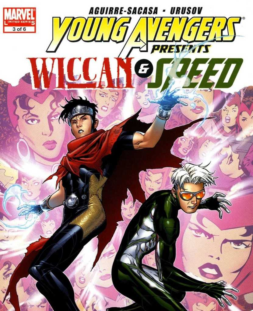 young avengers wiccan and speed in Avengers 4 casting call Scarlet Witch