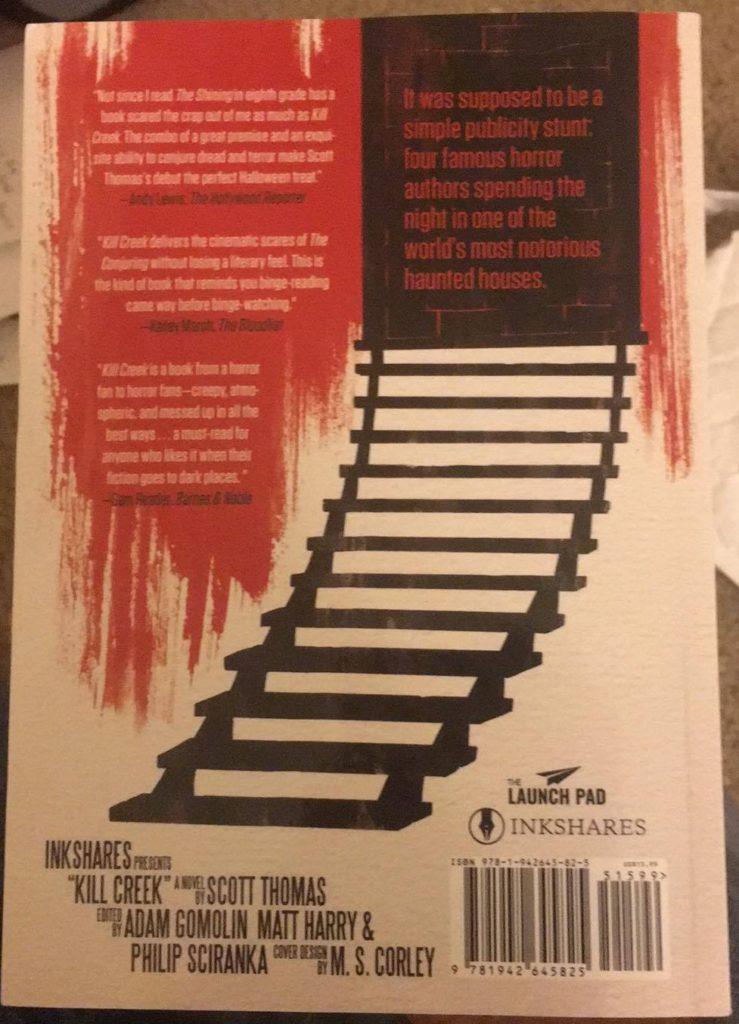 Kill Creek by Scott Thomas book review Inshares