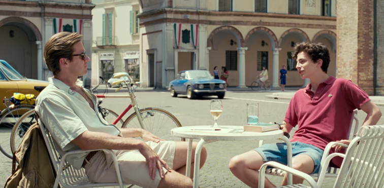 Call Me By Your Name Review LGBTQ+ Queer film Armie Hammer Chalamet