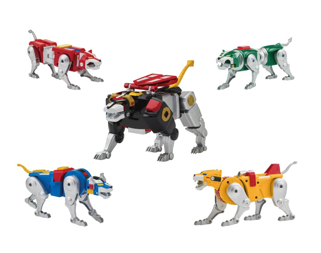 New Voltron Classic '84 Legendary Defenders Collection Playmates Toys