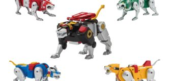 Voltron Classic '84 Legendary Lion Collection – Blue and Red Lion Review