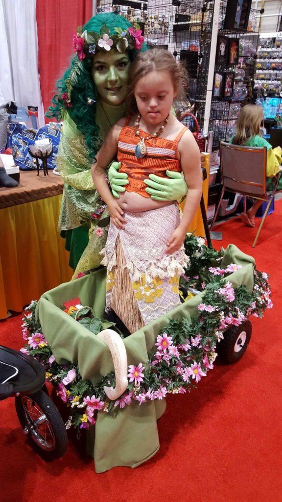 2017 conventions megacon orlando te fiti moana cosplay