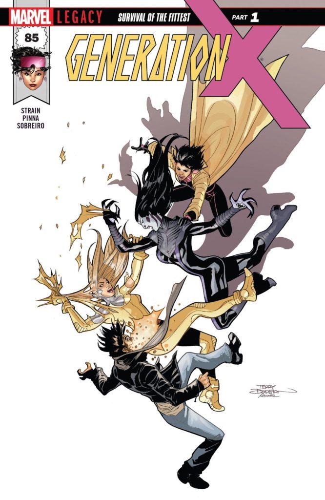 Generation X Issue 85 Marvel queer lgbtq comic books