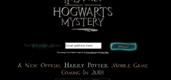 "Mobile RPG ""Harry Potter: Hogwarts Mystery"" To Be Released in 2018!"