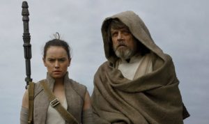 luke skywalker rey star wars the last jedi episode viii