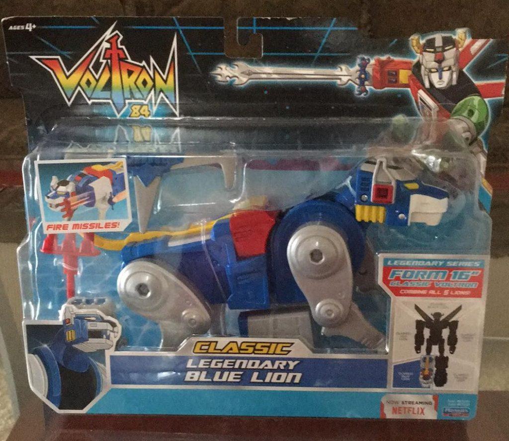 Voltron Classic '84 Legendary Blue Lion Netflix Playmates Toys