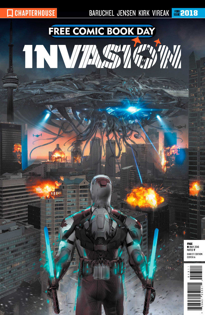 Captain Canick Invasion Free Comic Book Day 2018 Chapterhouse Comics
