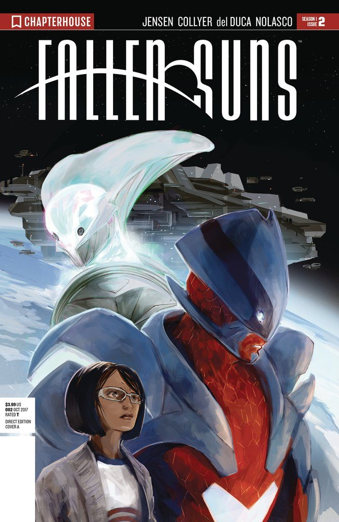 Fallen Suns Issue 2 and Issue 3 review Chapterhouse