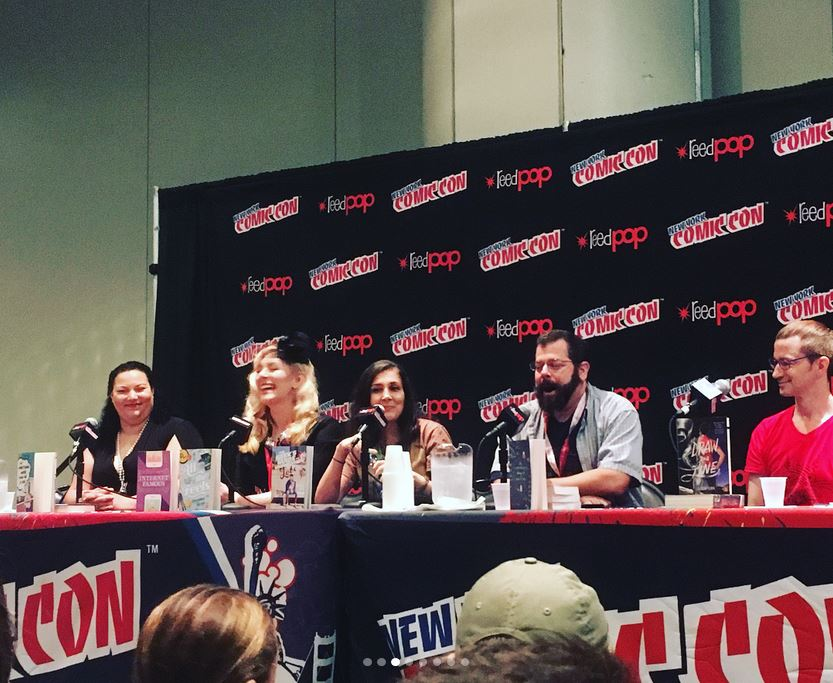 Danika Stone at New York Comic Con