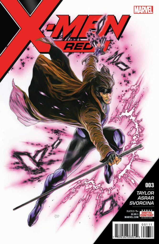 X-Men Red Issue 3 Gambit Marvel Comics