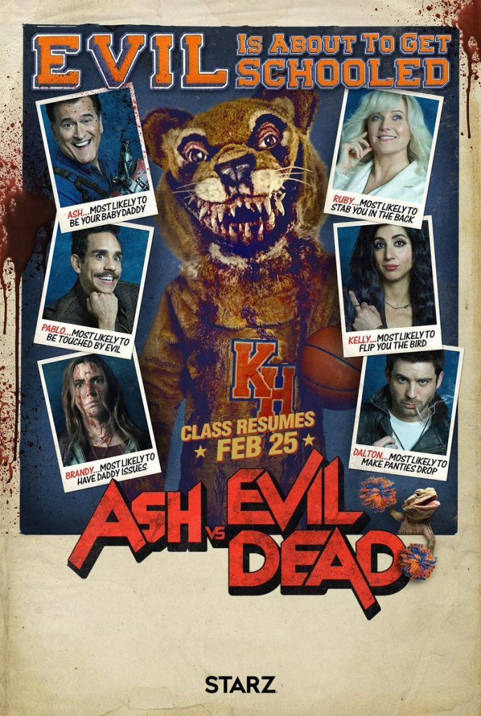 Ash vs Evil Dead Season 3 trailer Starz