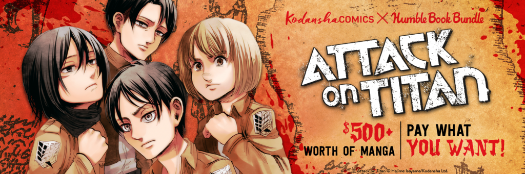 Attack on Titan Humble Bundle