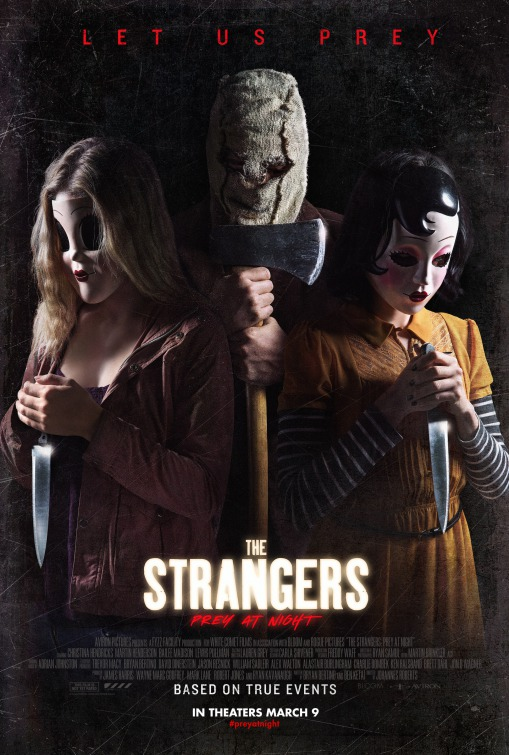 The Strangers Prey at Night Poster Aviron Pictures Trailer