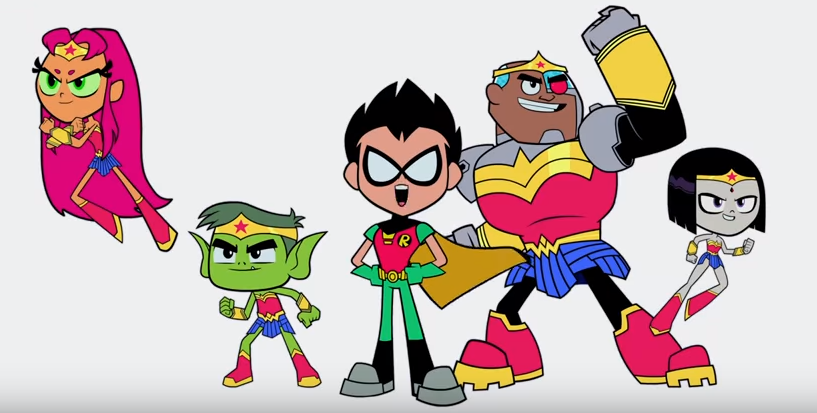 Teen Titans Go! to the Movies film trailer warner bros.