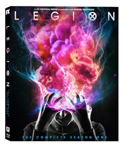 Legion Season One FX Fox Blu-ray DVD exclusive book