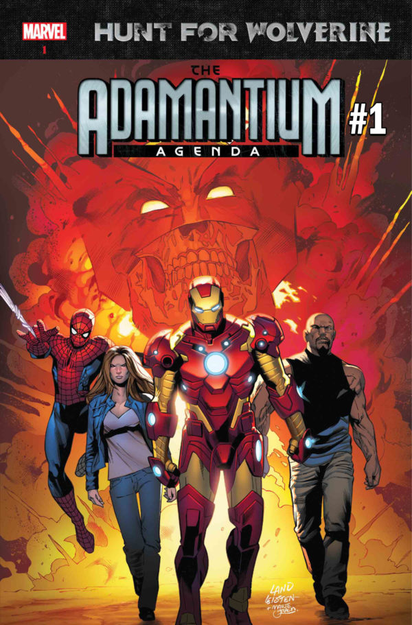Adamantium Agenda Hunt for Wolverine marvel comics