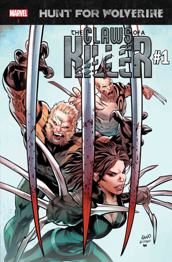Hunt for Wolverine Claws of a Killer Marvel Comics