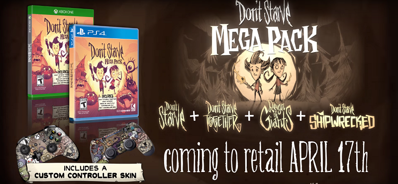 Starve Mega Pack April Release PS4 Xbox One 505 Games