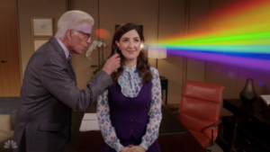 Janet and Michael The Good Place
