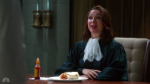 Judge Jen burrito The Good Place