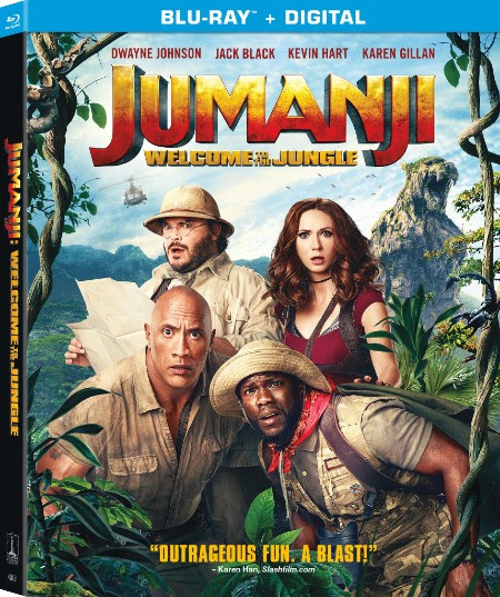 Jumanji 2 Welcome to the Jungle 4K Ultra HD Blu-ray DVD digital release Sony