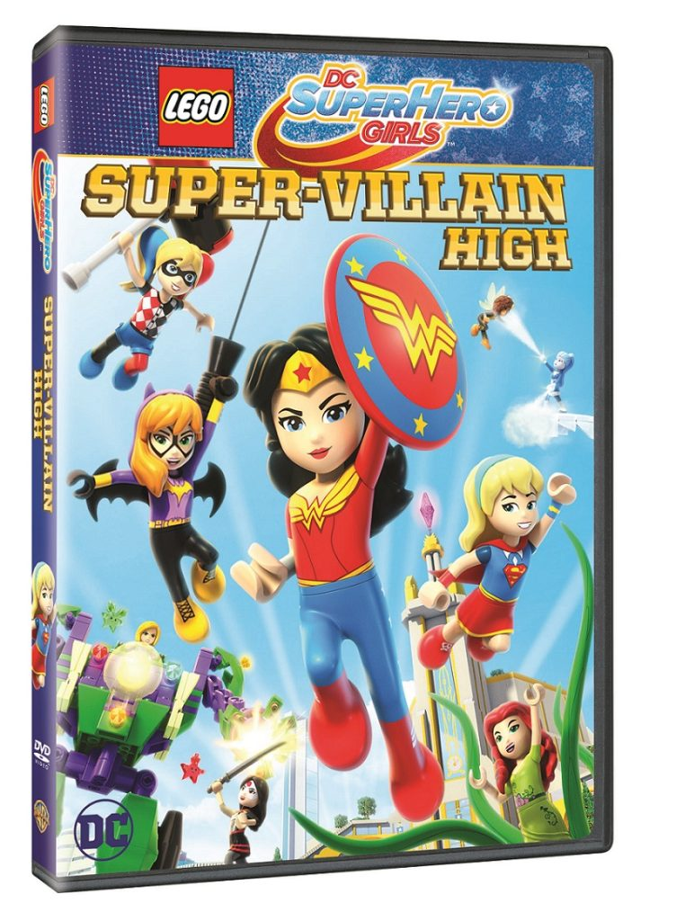 LEGO DC Super Hero Girls Super-Villain High DVD release date warner bros