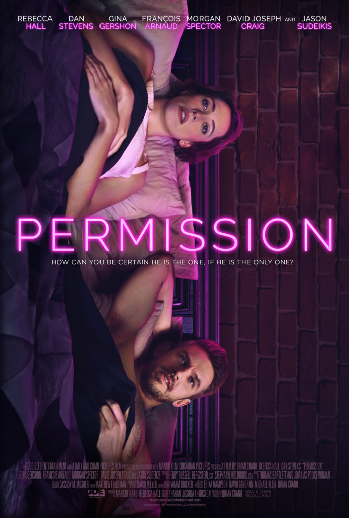 Permission movie poster Dan Steven Rebecca Hall