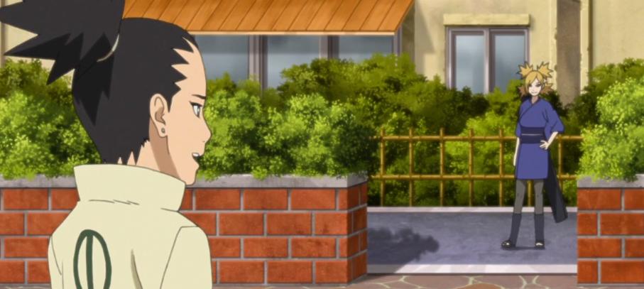 Boruto anime episode 44 review Shikadai's Doubts Temari and Shikadai
