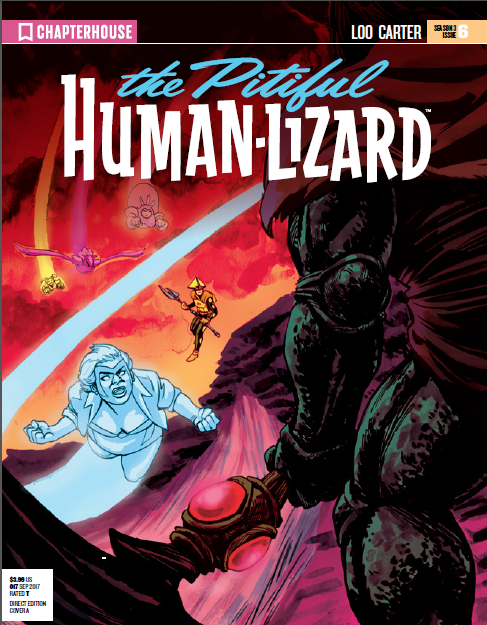 The Pitiful Human Lizard Chapter 17 review Chapterhouse comics