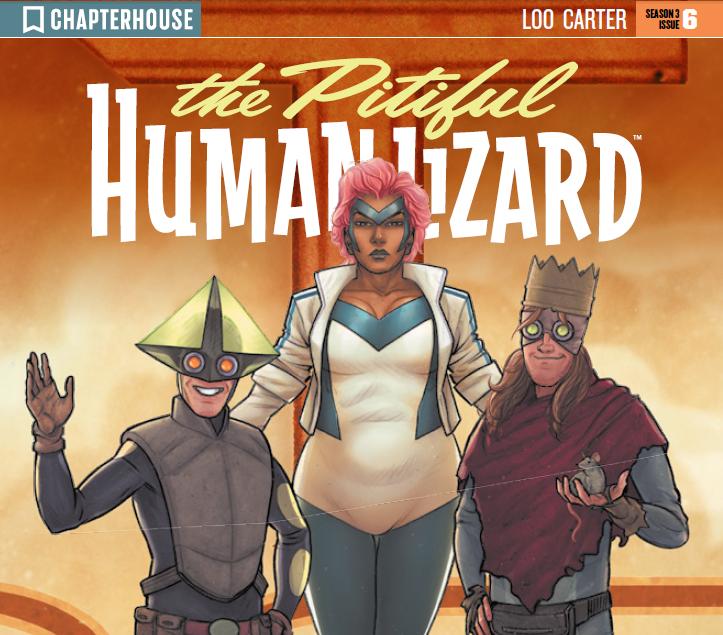 The Pitiful Human Lizard Chapter 17 review chapterhouse comics diversity
