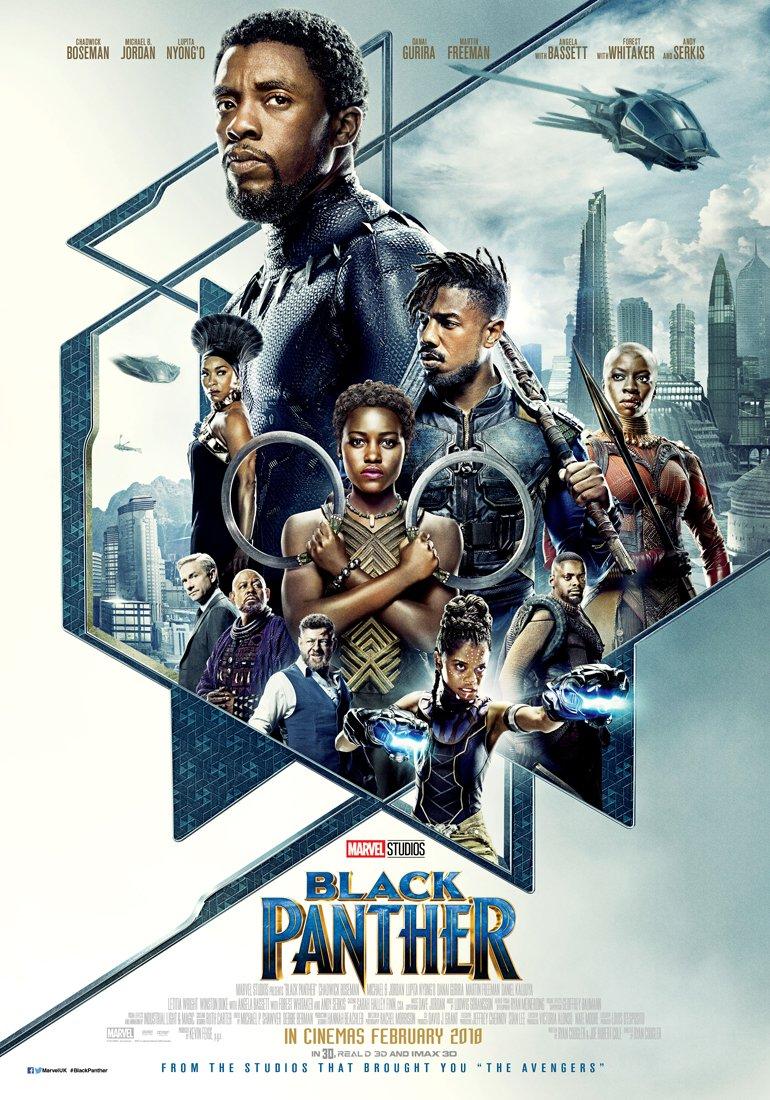 Oscars 2019 Nominations Black Panther UK Poster Okoye Golden Globe Awards 2019