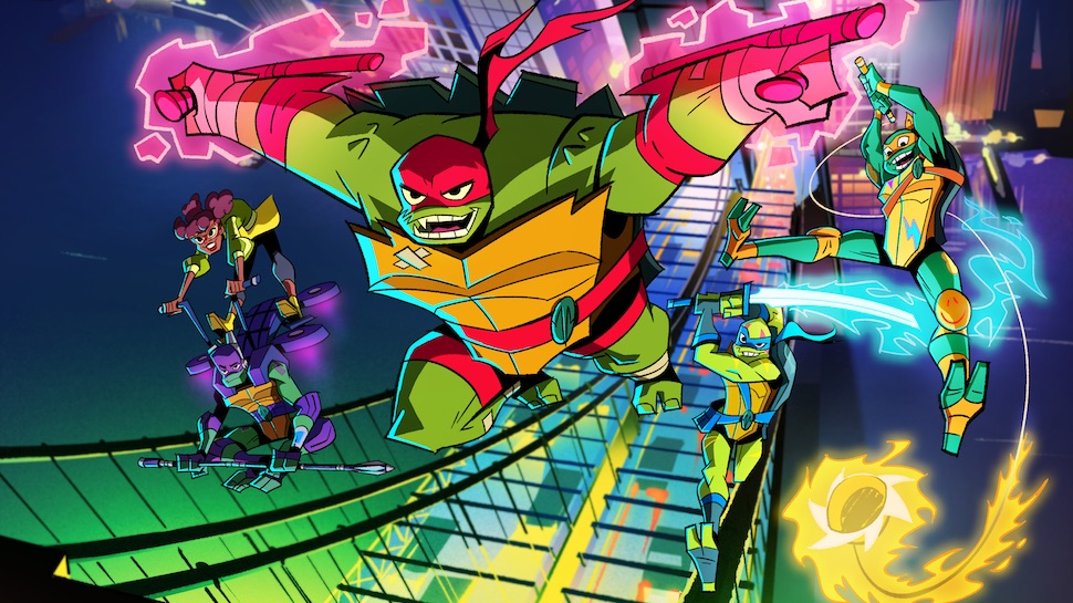 Rise of the Teenage Mutant Ninja Turtles image