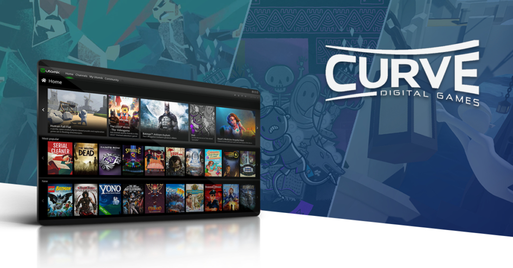 Utomik partners with Curve Digital gaming subscription geekiary news briefs