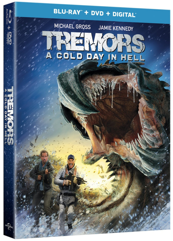Tremors 6 A Cold Day in Hell Blu-ray DVD release