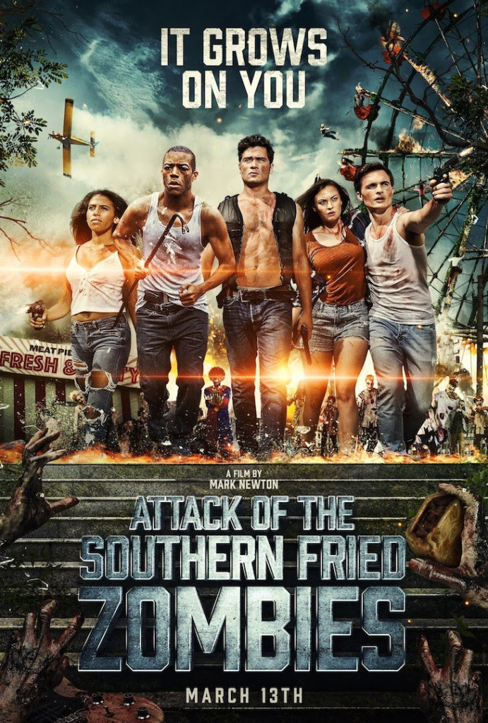 Attack of the Southern Fried Zombies Gravitas Ventures release date