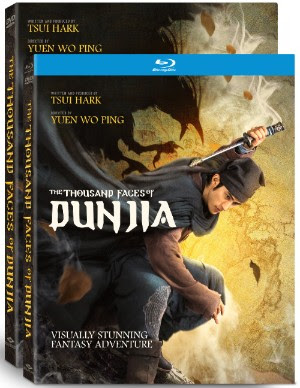 The Thousand Faces of Dunjia DVD Blu-ray Release Well Go USA