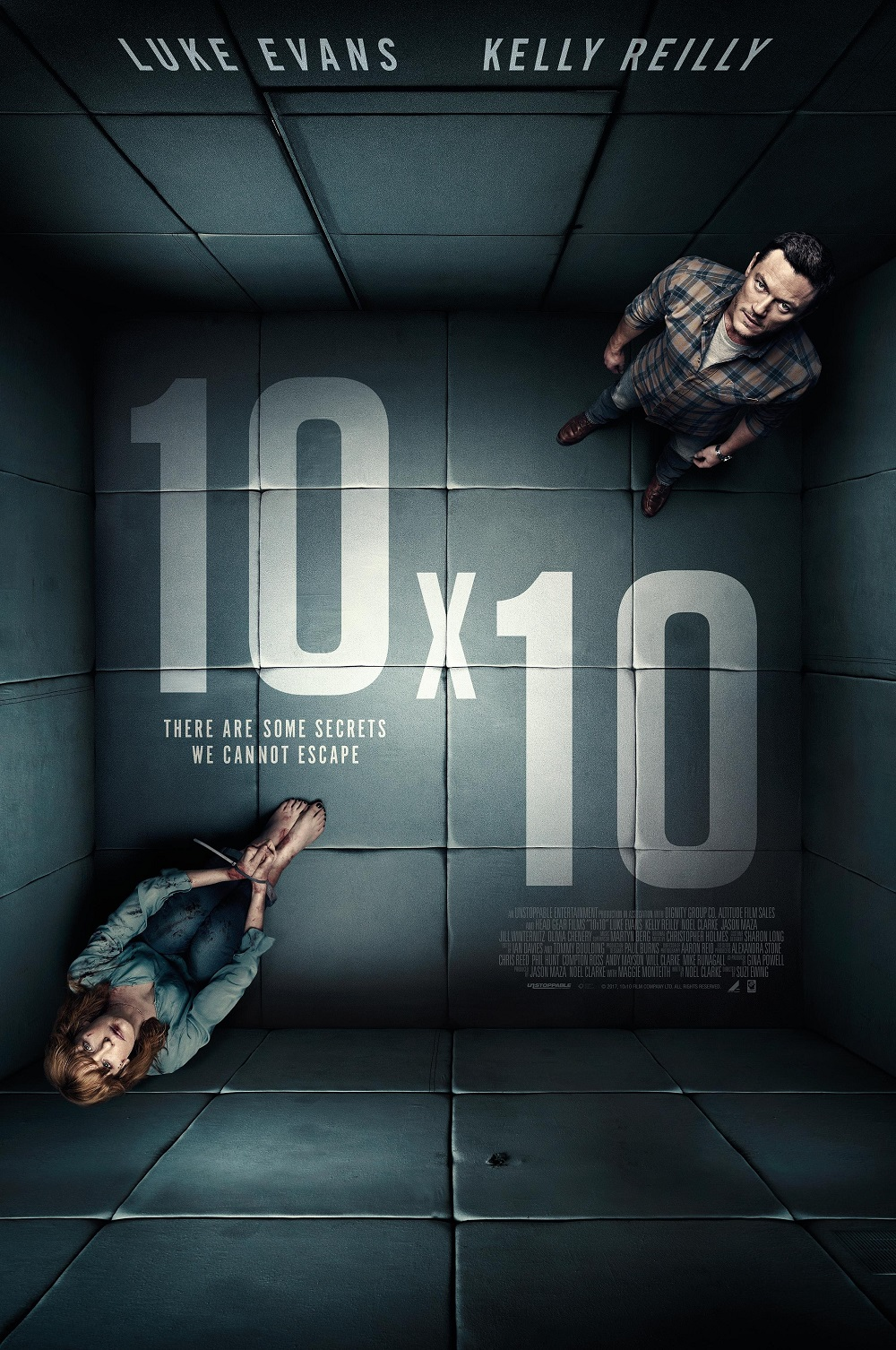 10x10 Film poster trailer luke evans Kelly Vertical Entertainment