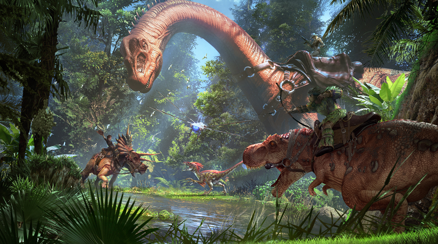 ARK Park: Live With Dinosaurs In Snail Games' Multiplayer VR